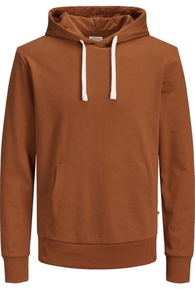 Jack & Jones 12136885 Erkek Sweat Hood Jjeholmen Sweat Hood Noos Sweat Shirt