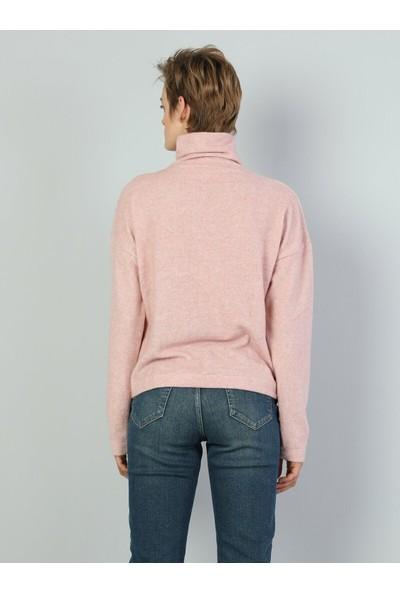Colin's Pembe Kadın Sweatshirt