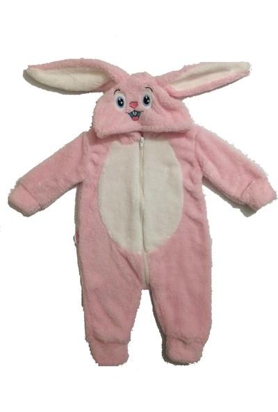 Bebesev Baby Welsoft Fermuarlı Tavşan Tulum