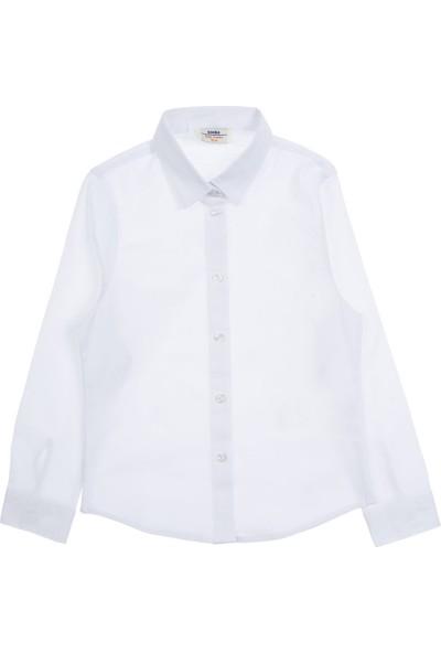 Soobe Genç Kız Gömlek Kırık Beyaz