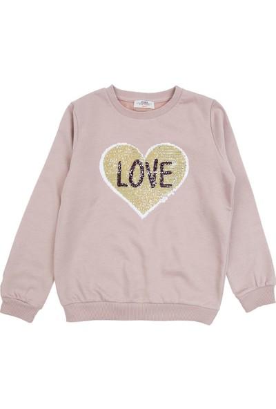 Soobe Genç Kız Sweatshirt Gül Kurusu