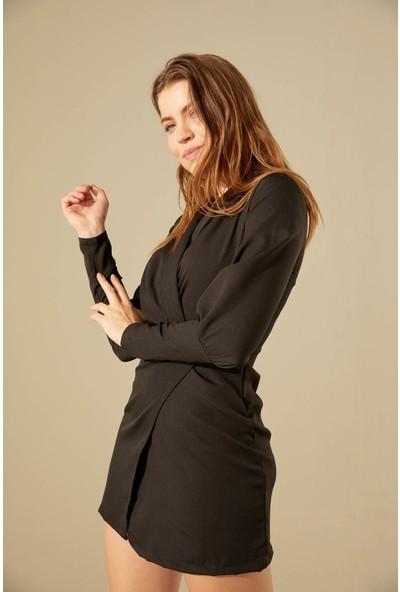 Trendmay Kadın Yırtmaçlı Elbise 001