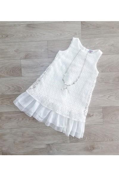 Pafim Brode Kolsuz Elbise