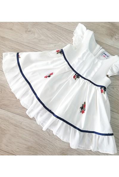 Pafim Kız Bebek Abiye Elbise 06-18 Ay