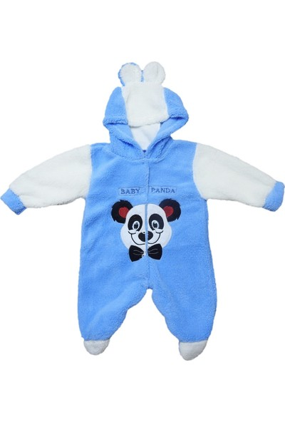 Babymix Velsoft Bebek Tulum Panda Desenli