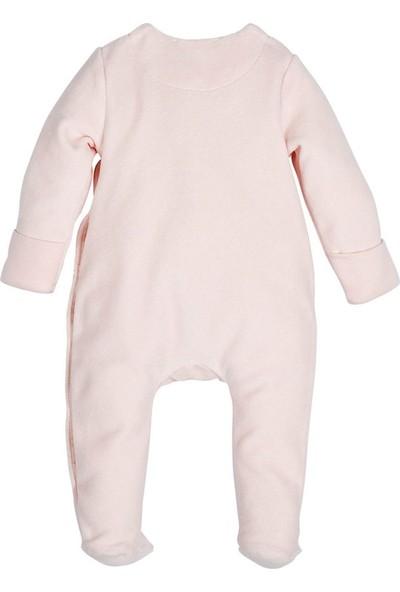 İdil Baby Bebek Tulumu 12794 Pudra 3 - 6 Ay
