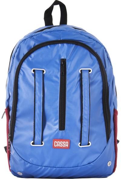 Cassa Unisex Laptop Bölmeli Sırt Çantası Mavi 3340