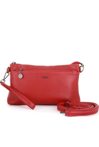 Passtell Kadın Omuz ve Portföy Çanta Kırmızı 6216