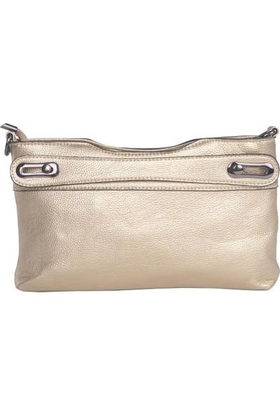 Kriste Bell Kadın Çanta Altın 25084