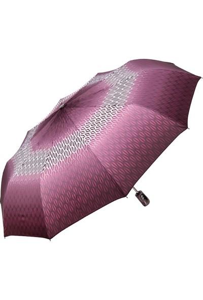 Snotline Kadın Şemsiye Mini Desenli Mor 225L