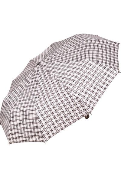 Snotline Kadın Şemsiye Mini Ekose Bej 225L