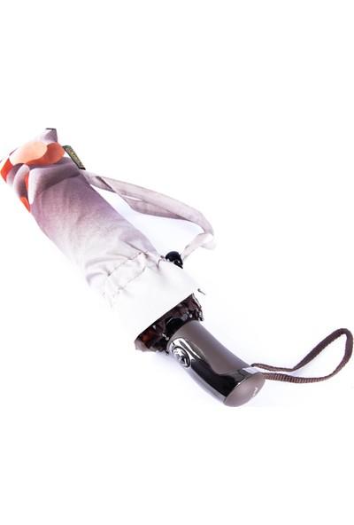 Snotline Kadın Şemsiye Mini Desenli Gri 225L