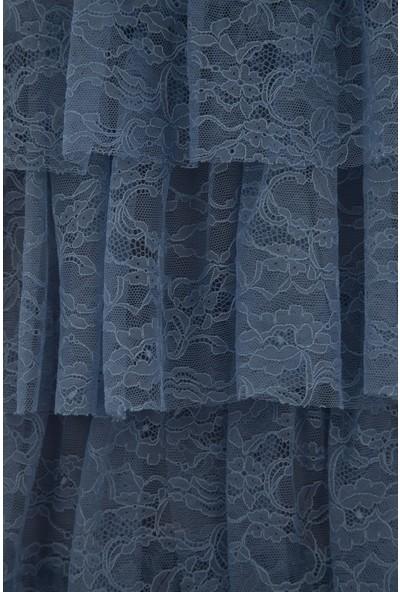 Arda New Line Kadın İndigo Elbise 130153-10.98