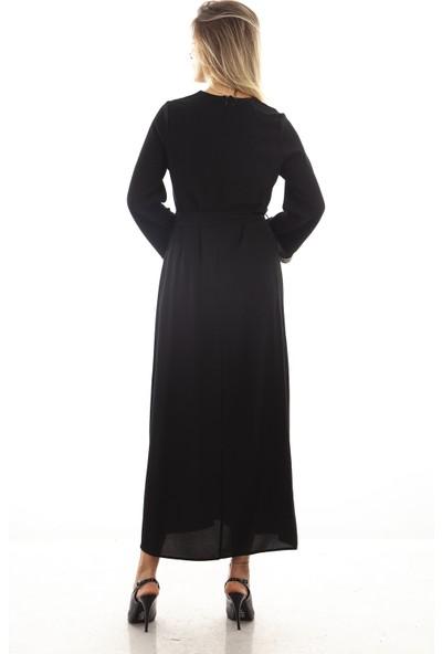 Arda New Line Siyah Elbise 3561994.01