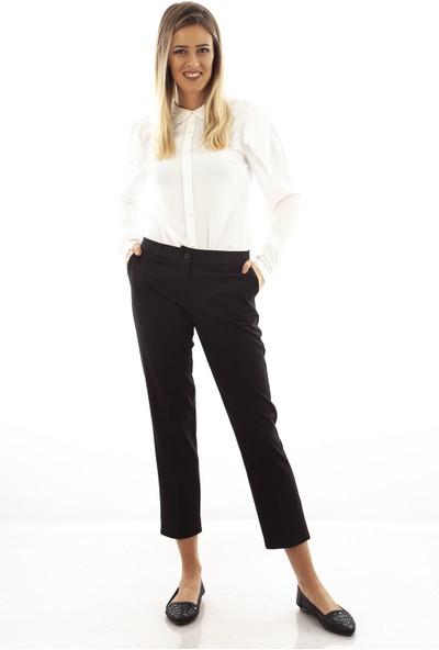 Arda New Line Kadın Siyah Pantolon 6501001-10.01