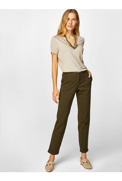 Faik Sönmez Kadın Pantolon 39518