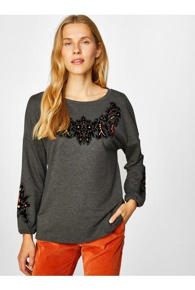 Faik Sönmez Kadın Sweatshirt 39563