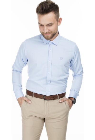Sabri Özel Uzun Kollu Slim Fit Gömlek Erkek Uzun Kollu Gömlek 5431633