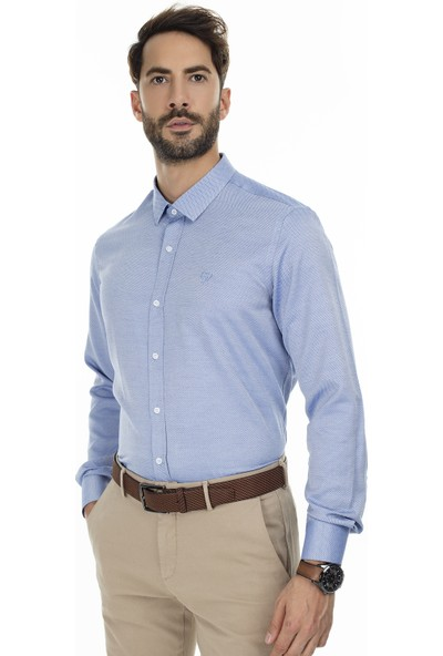 Sabri Özel Uzun Kollu Slim Fit Gömlek Erkek Uzun Kollu Gömlek 5431637