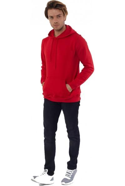 Louis Park Kapüşonlu Basic 3 İplik Sweatshirt