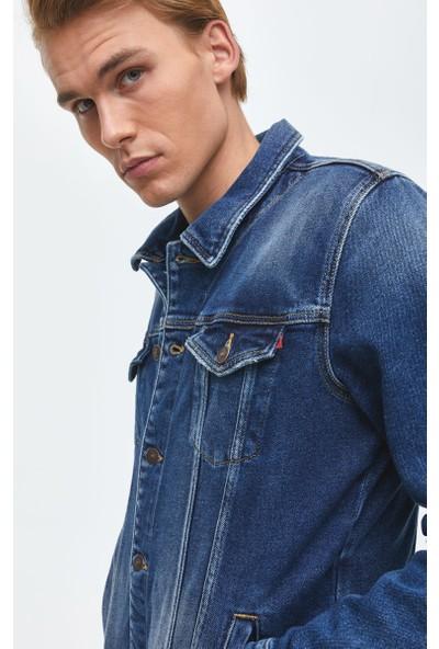LTB Santino Y Wynwood Wash Erkek Jeans Ceket
