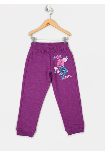 U.S. Polo Assn. Kız Çocuk Örme Pantolon 50210587-Vr037