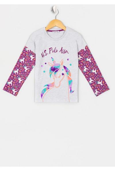 U.S. Polo Assn. Kız Çocuk Kiz Çocuk Pijama 50223182-Vr185