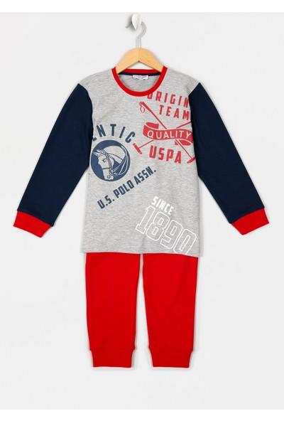U.S. Polo Assn. Erkek Çocuk Erkek Çocuk Pijama 50223174-Vr086