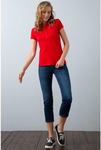 U.S. Polo Assn. Kadın T-Shirt 50202756-Vr030