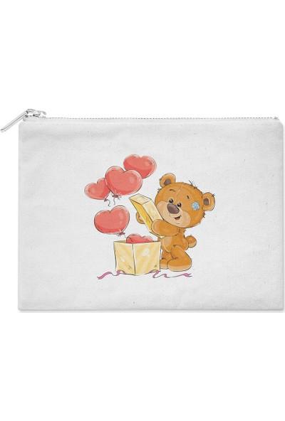 Wuw Balonlu Teddy Ayıcık El Çantası
