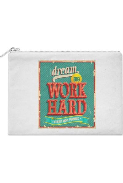 Wuw Dream Big Work Hard El Çantası