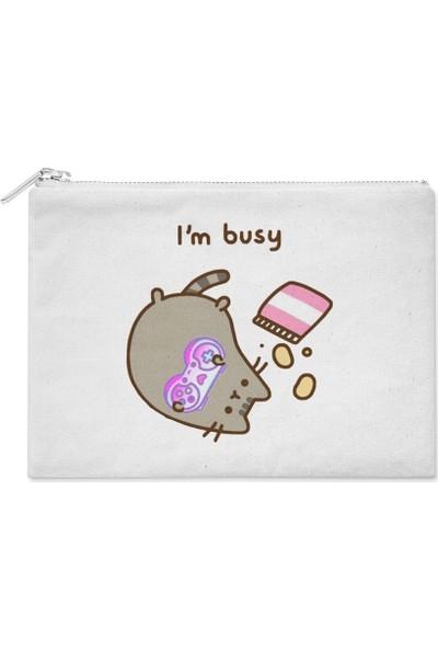 Wuw Pusheen I M Busy El Çantası