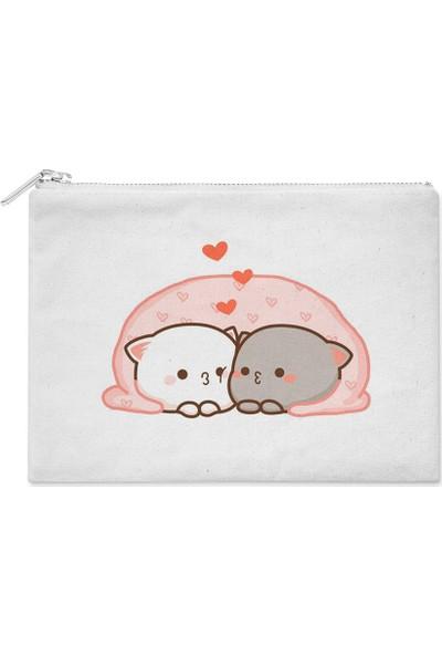 Wuw Lover Cats Yavru Kediler El Çantası