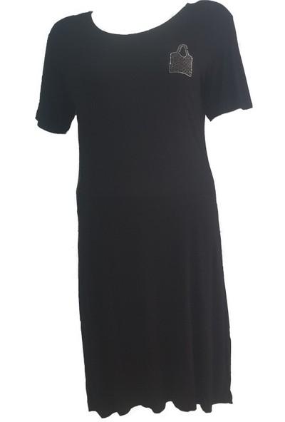 Lasa Viskon Uzun Elbise