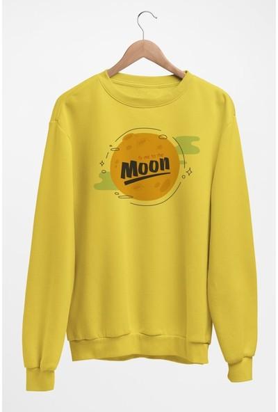Angemiel Wear Ay Moon Kadın Sweatshirt