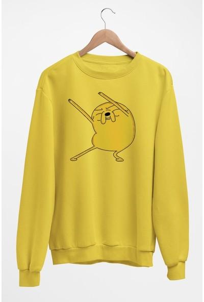 Angemiel Wear Köpek Jack Kadın Sweatshirt