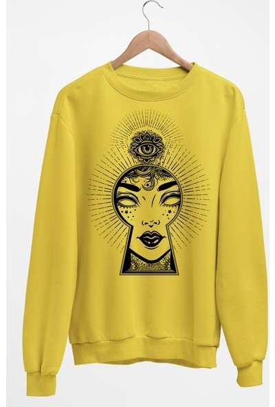 Angemiel Wear Kilit Göz Kadın Sweatshirt