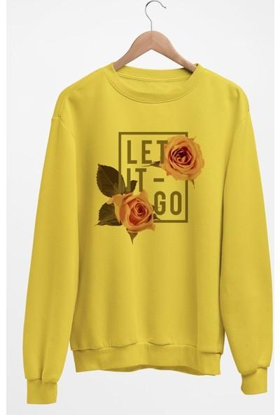 Angemiel Wear Let It Go Kadın Sweatshirt