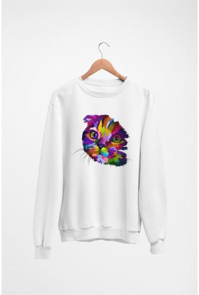 Angemiel Wear Kitty Kadın Sweatshirt