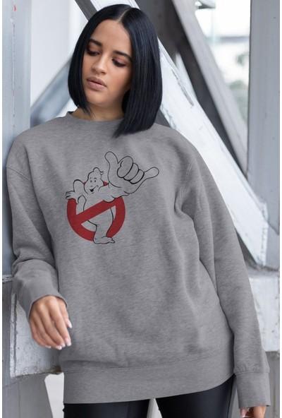 Angemiel Wear Ghostbusters Kadın Sweatshirt