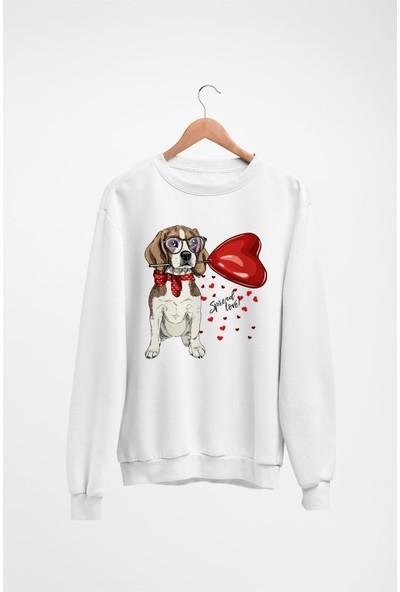 Angemiel Wear Spread Love Kadın Sweatshirt