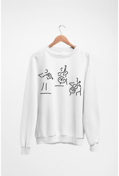 Angemiel Wear Enstrüman Kadın Sweatshirt