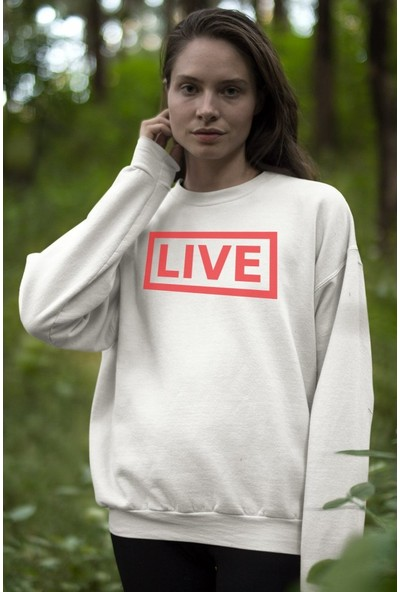 Angemiel Wear Live Kadın Sweatshirt