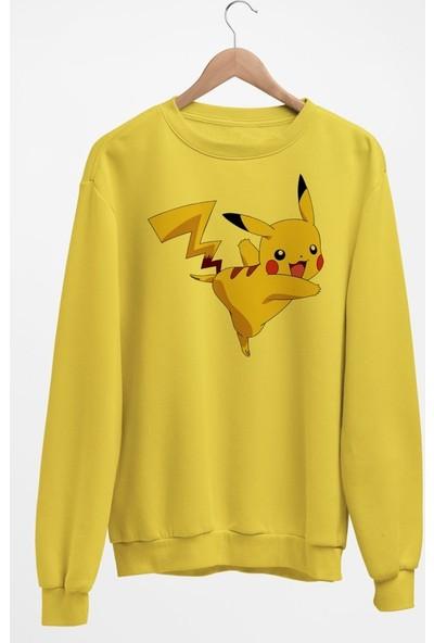 Angemiel Wear Pikachu Kadın Sweatshirt