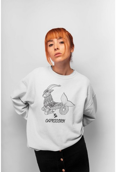 Angemiel Wear Capricorn Kadın Sweatshirt