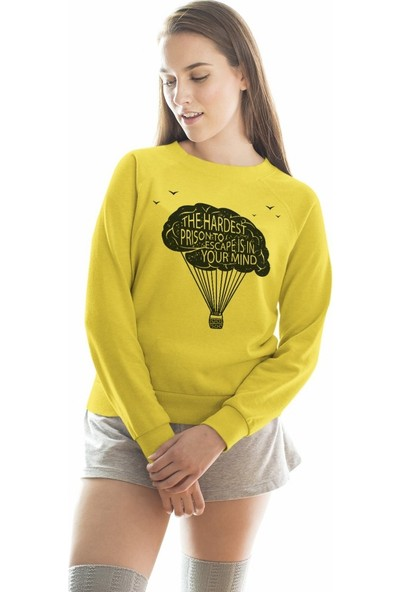 Angemiel Wear Balon Kadın Sweatshirt