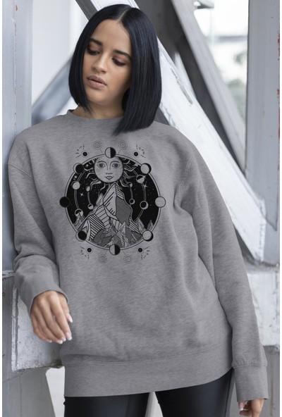 Angemiel Wear Ay Güneş Yıldız Kadın Sweatshirt