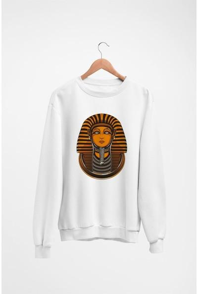 Angemiel Wear Mısır Firavunu Kadın Sweatshirt
