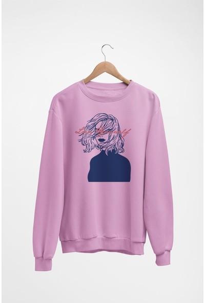 Angemiel Wear Love Yourself Kadın Sweatshirt