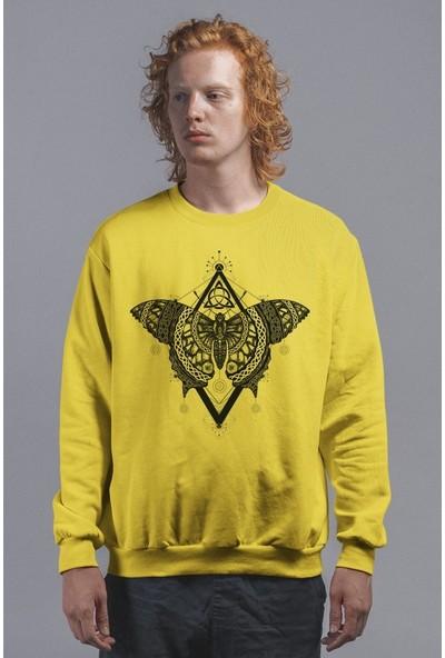 Angemiel Wear Mistik Kelebek Kadın Sweatshirt